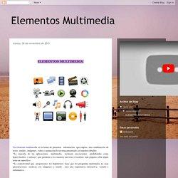Elementos Multimedia