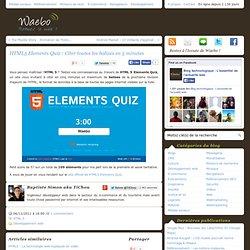HTML5 Elements Quiz : Citer toutes les balises en 5 minutes