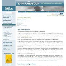 Law Handbook