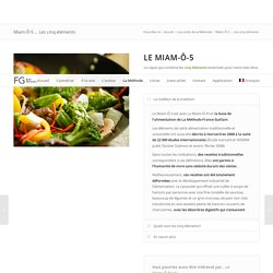 Miam-Ô-5 ... Les cinq éléments - Bains dérivatifs et Méthode France Guillain