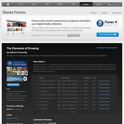 The Elements of Drawing - Download free content from Oxford University on iTunes