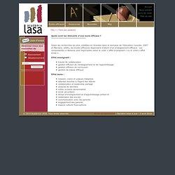 Quels sont les éléments d'une école efficace ?: Academie LASA