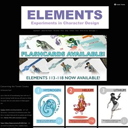 Elements - Experiments in Character Design