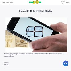 Elements 4D Interactive Blocks by DAQRI