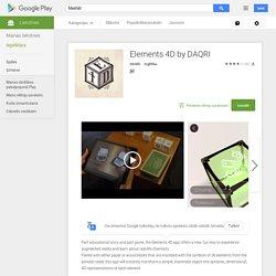 Elements 4D by DAQRI— Android lietotnes pakalpojumā Google Play