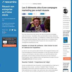 Les 5 éléments clés d'une campagne marketing par e-mail réussie par Neocamino