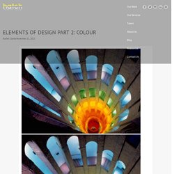 ELEMENTS OF DESIGN PART 2: COLOUR