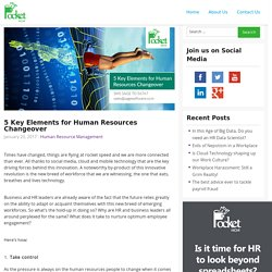 5 Key Elements for Human Resources Changeover