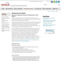 Elements & Toolkits