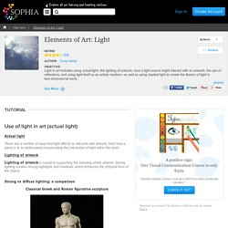 Elements of Art: Light Tutorial