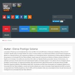 Elena Postigo Solana