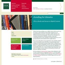 E-Lending for Libraries