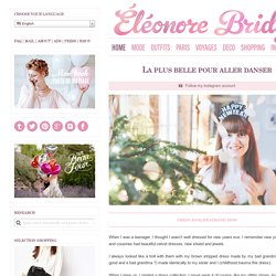 Eleonore Bridge, blog mode, site féminin, Paris