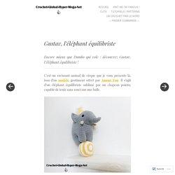 Gustav, l'éléphant équilibriste
