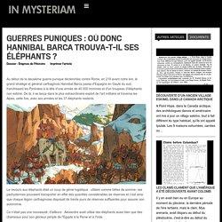Guerre punique : où donc Hannibal Barca trouva-t-il ses éléphants ?