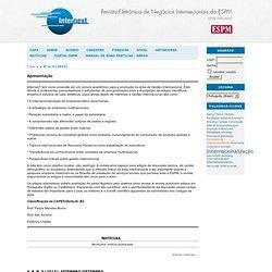 InternexT - Revista Eletrônica de Negócios Internacionais da ESPM