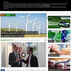 Eolico: coprirà il 7,3% dell'elettricità mondiale entro il 2018 - Energia - GreenStyle