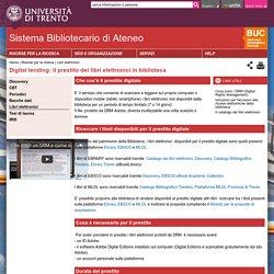 Digital lending: il prestito dei libri elettronici in biblioteca