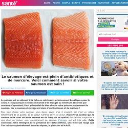 Le saumon d'élevage est plein d'antibiotiques et de mercure. Voici comment savoir si votre saumon est sain !