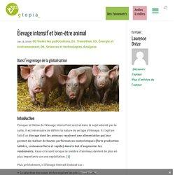 Élevage intensif et bien-être animal