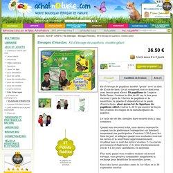 Vente Kit d'élevage de papillons, modèle géant Insectlore - Achat Nature