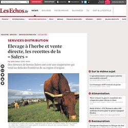 LES ECHOS 03/03/14 Elevage à l'herbe et vente directe, les recettes de la « Salers ».