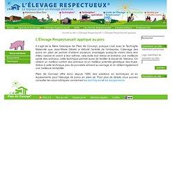 Élevage Respectueux de porc - Plein Air Concept