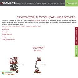 Elevated Work Platforms Services Bayswater - Duralift