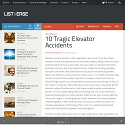 10 Tragic Elevator Accidents