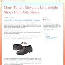 Buy Exclusive Range of Elevator Shoes for Men's
