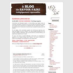 ÉLEVER DES LAPINS CHEZ SOI « Le blog de Savoir-Faire et Découverte