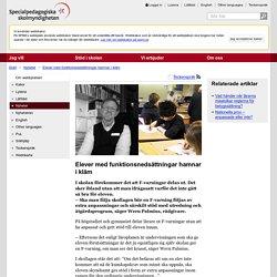 Elever med funktionsnedsättningar hamnar i kläm