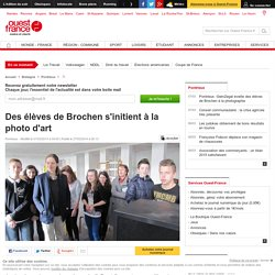 Des élèves de Brochen s'initient à la photo d'art