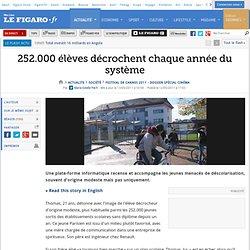 France : 252.000 élèves décrochent chaque année du système