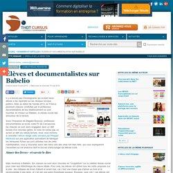 Élèves et documentalistes sur Babelio