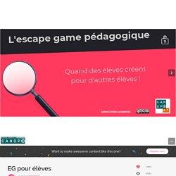 EG pour élèves by emilielebret on Genial.ly