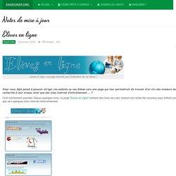 Elèves en ligne