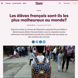Les élèves français sont-ils les plus malheureux au monde?