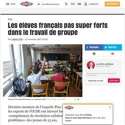 Les élèves français pas super forts dans le travail de groupe