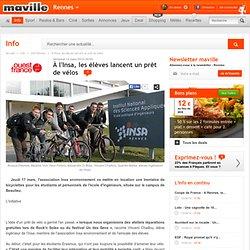 À l'Insa, les élèves lancent un prêt de vélos