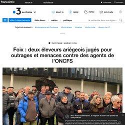 Foix : deux éleveurs ariégeois jugés pour outrages et menaces contre des agents de l'ONCFS