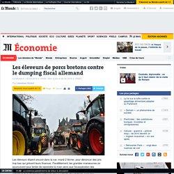 Les éleveurs de porcs bretons contre le dumping fiscal allemand