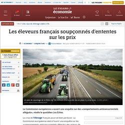 Les éleveurs français soupçonnés d'ententes sur les prix