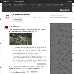 Loup. Des éleveurs séquestrent le président du parc de la Vanoise