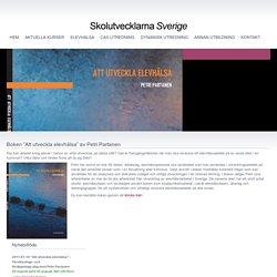 """Boken """"Att utveckla elevhälsa"""" av Petri Partanen"""