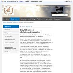 Elevhälsan som skolutvecklingsprojekt - Köpings kommun