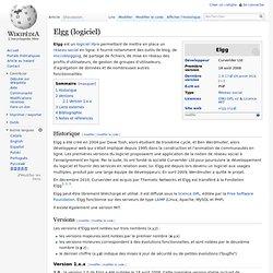 Elgg (logiciel)