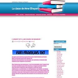 La classe de Mme Elhayani » Blog Archive » L'ARGENT EST-IL UNE SOURCE DE BONHEUR ?