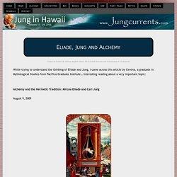 Eliade, Jung and Alchemy