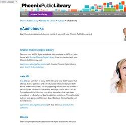eLibrary eAudiobooks